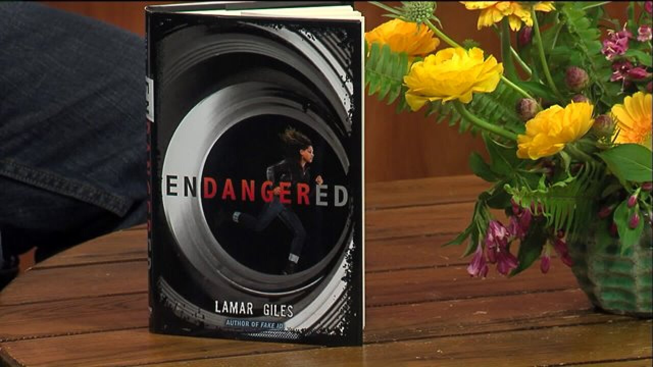 """Young Adult Author and Hopewell-Native Lamar Giles shared his latest work, """"Endangered"""""""