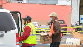 Two food drives will be held in Corpus Christi on Tuesday