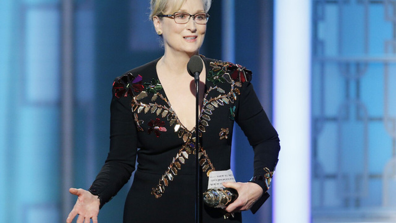 Complete text of Meryl Streep's Golden Globes speech