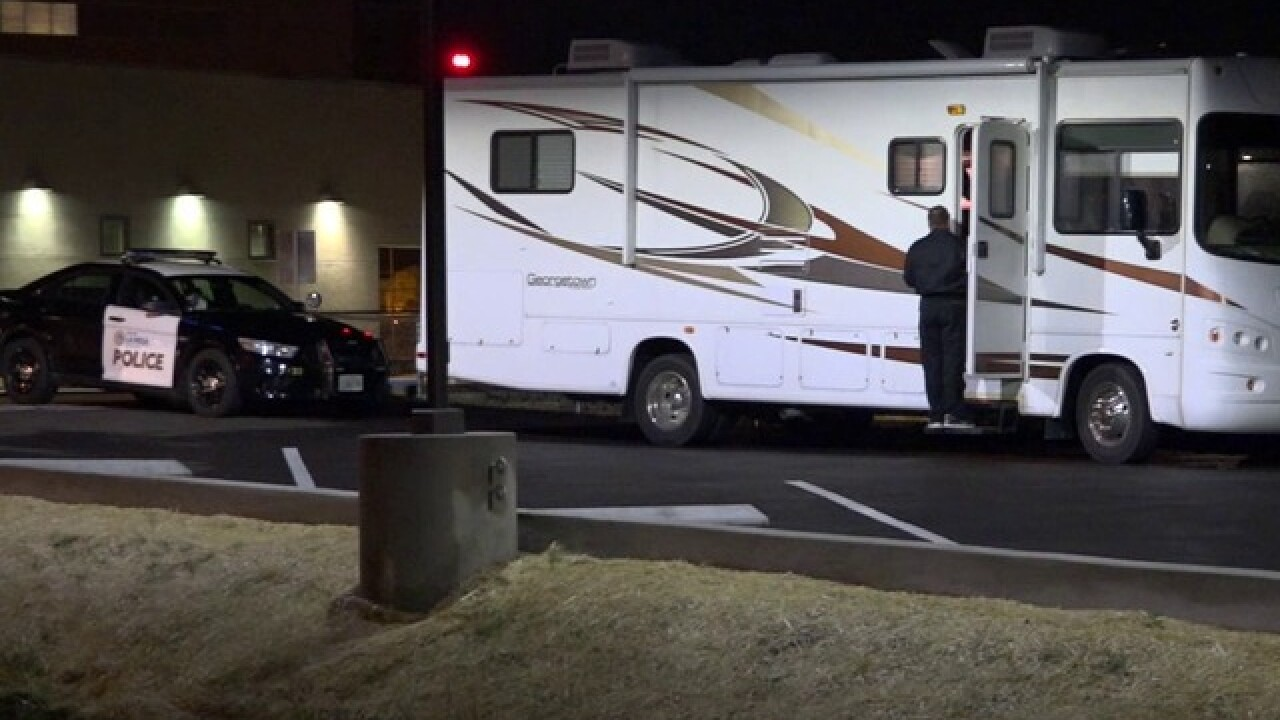 Woman drives 23 hours with dead husband in RV