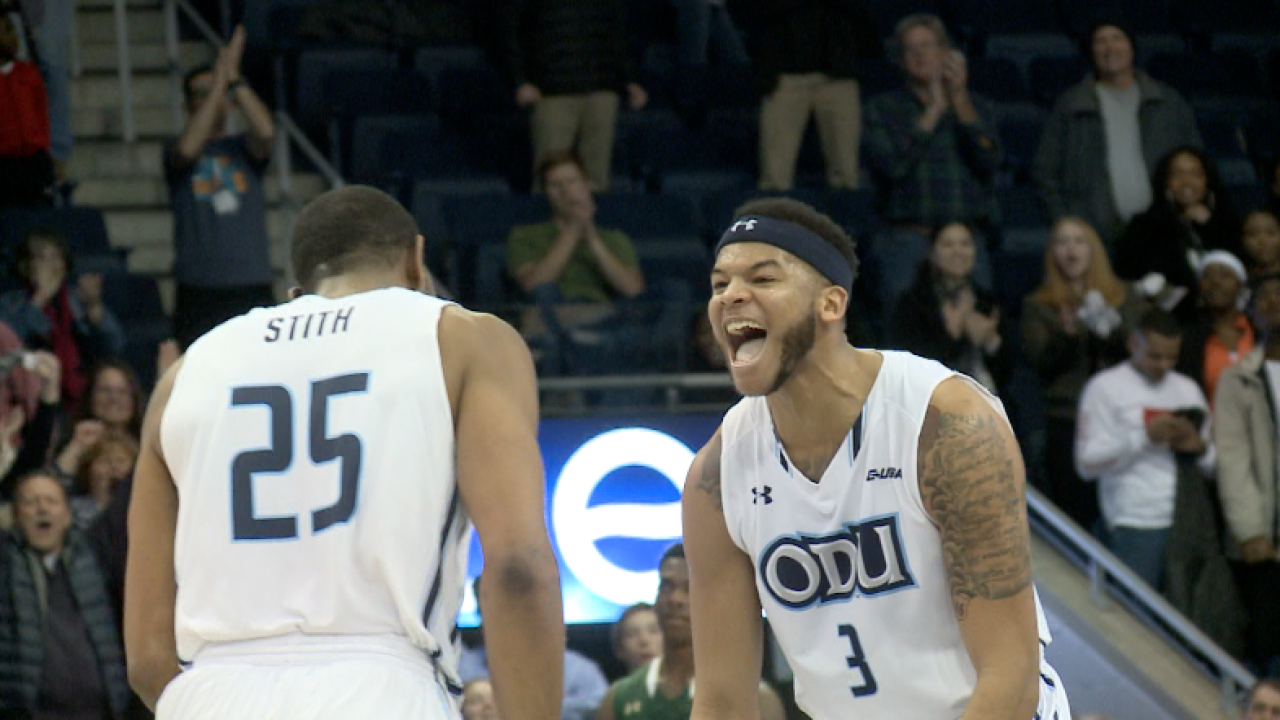 ODU men's hoops beats Middle Tennessee for first time in programhistory