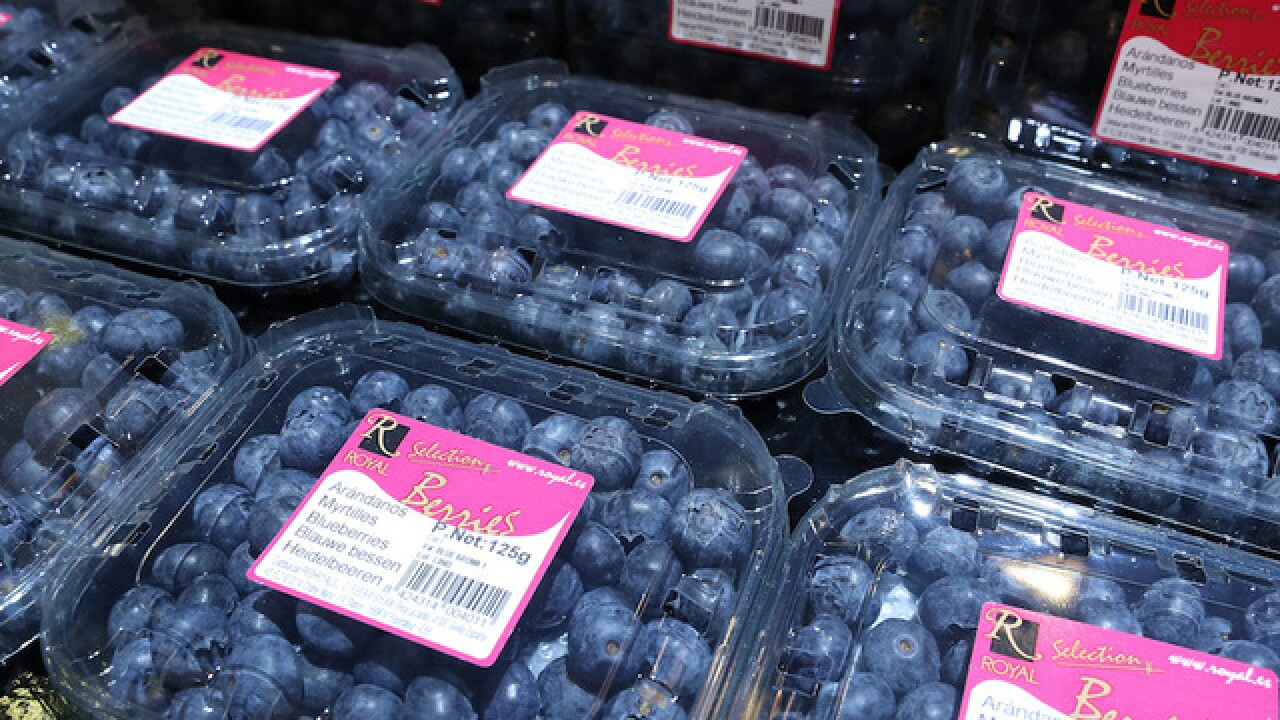 Suspect takes off with $100,000 in blueberries