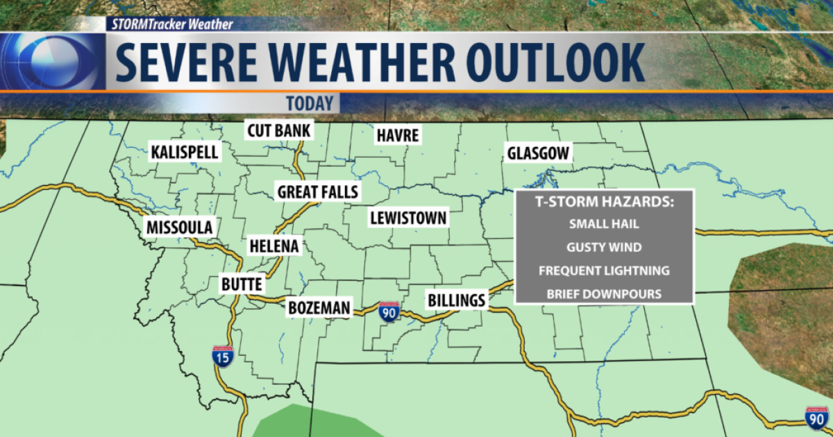 Stronger storms possible as widespread chances return
