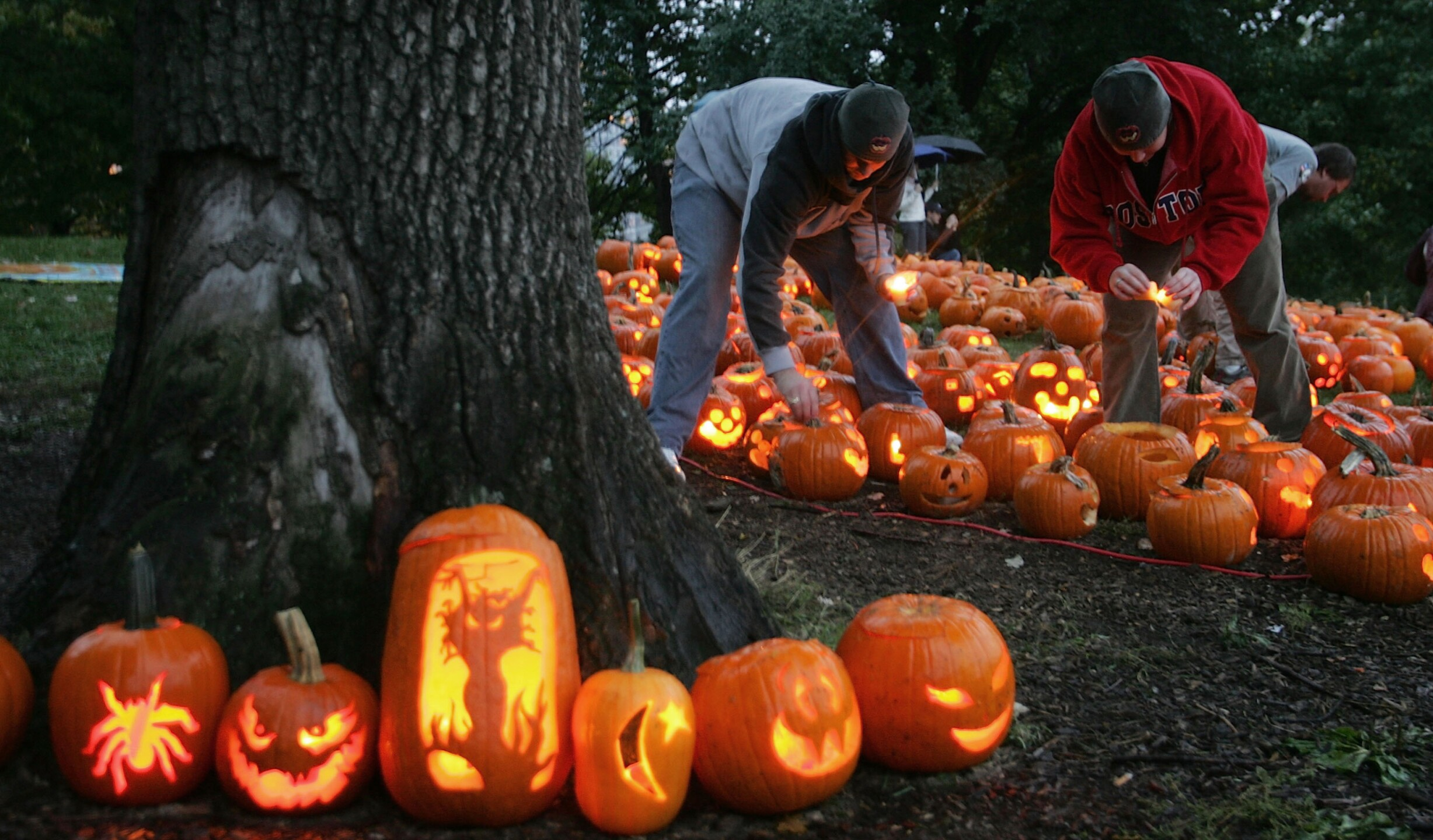 Boston Holds Pumpkin Festival