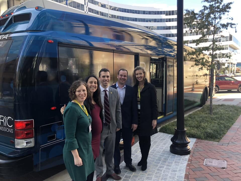 Photos: Virginia will provide $12 million for electric public transportation buses
