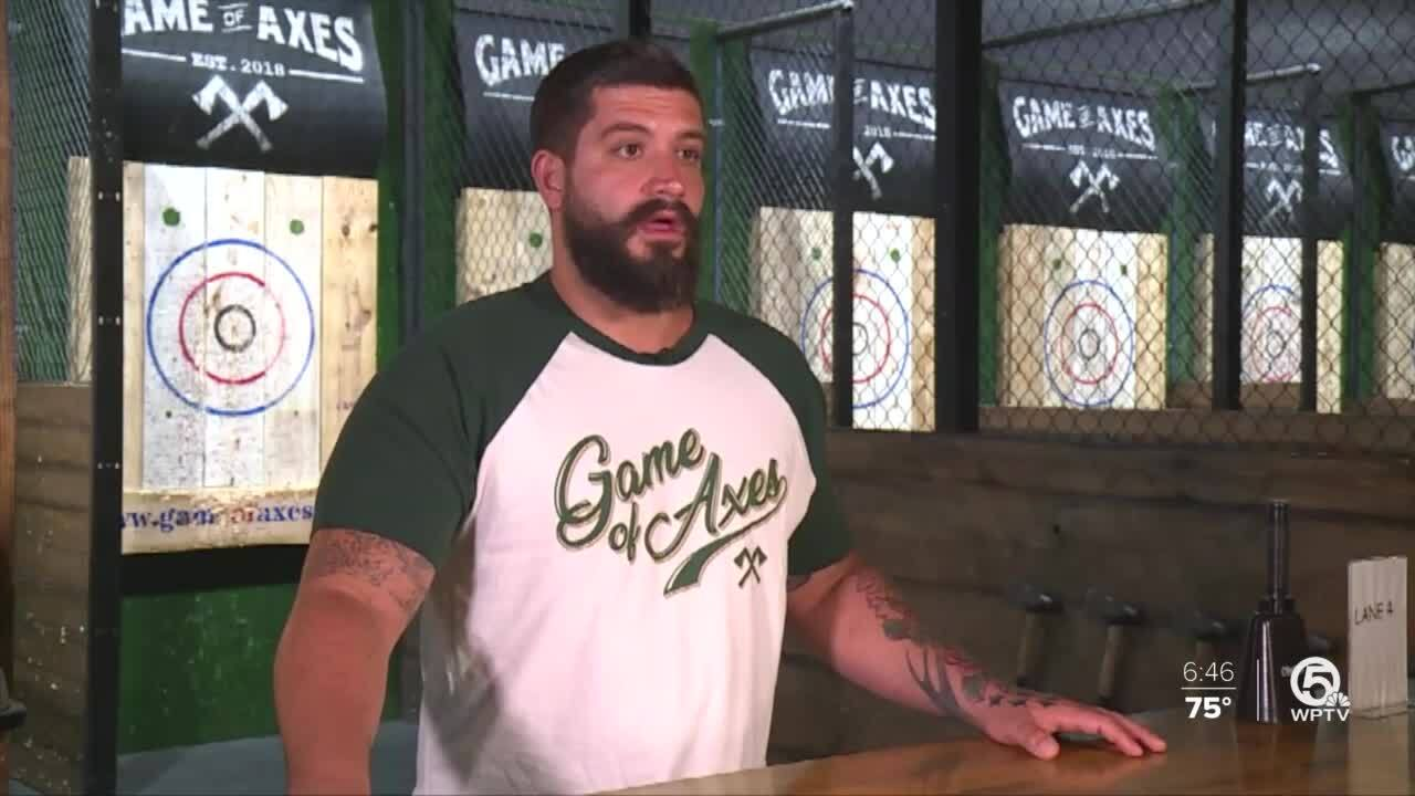 Joey Magee, owner of Game of Axes, says move to Phase Two was 'live-or-die situation'