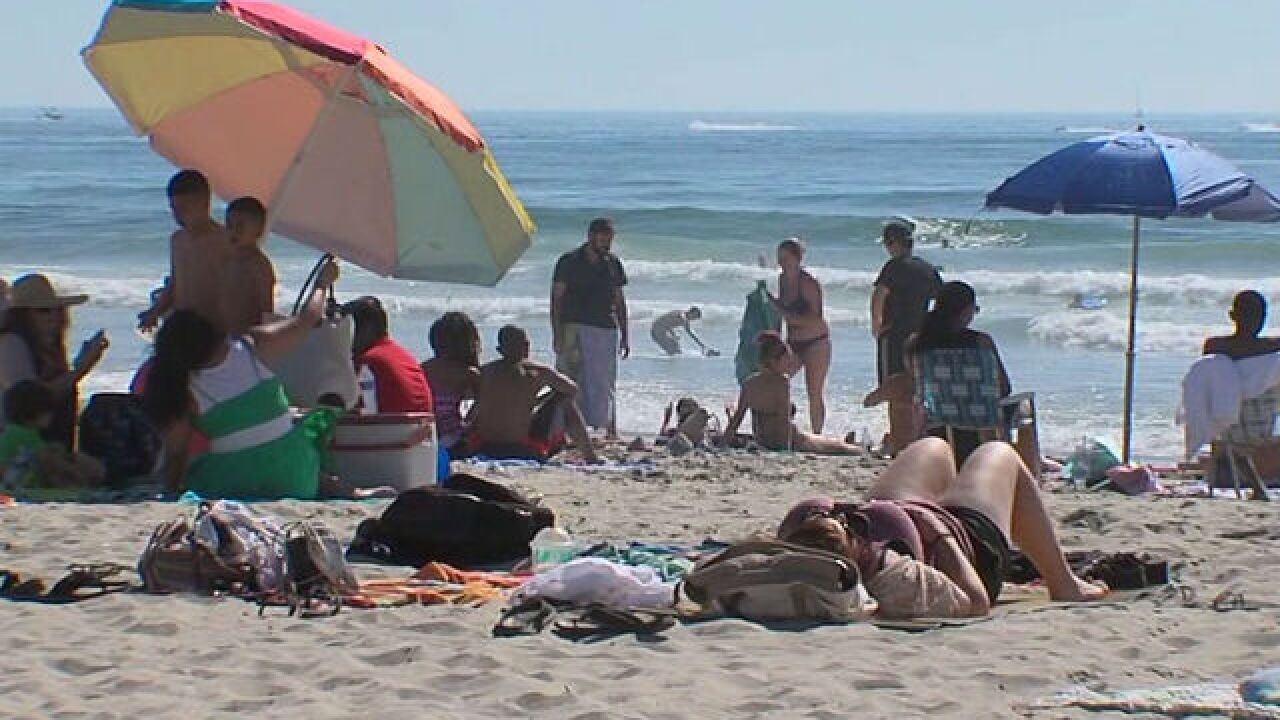Wild weather takes Santa Barbara beachgoers by surprise