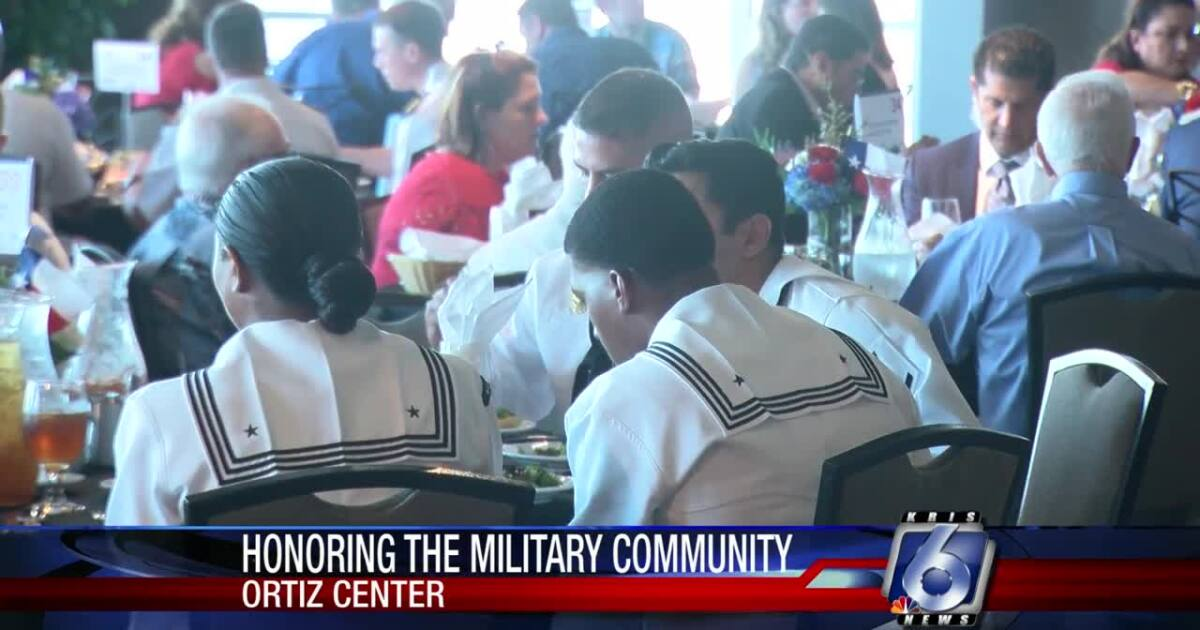 George P. Bush honors Corpus Christi military