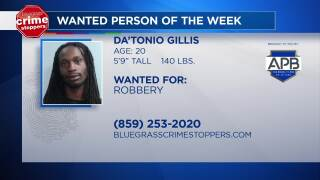 Crime Stoppers Most Wanted Person Of The Week: September 26, 2018