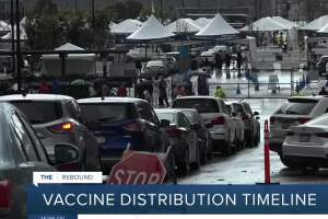 California's vaccine distribution timeline