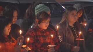 Hardin remembers Selena Not Afraid at vigil