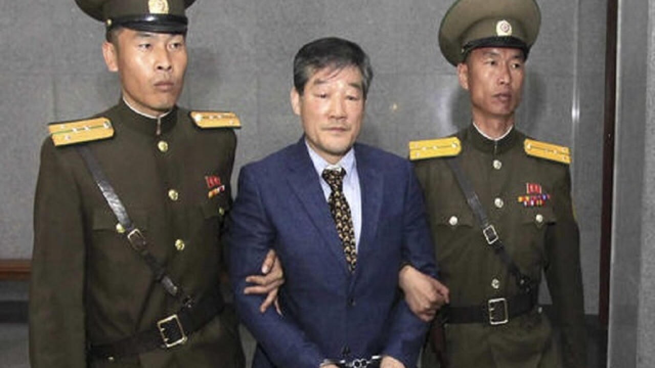 North Korea sends another US citizen to prison