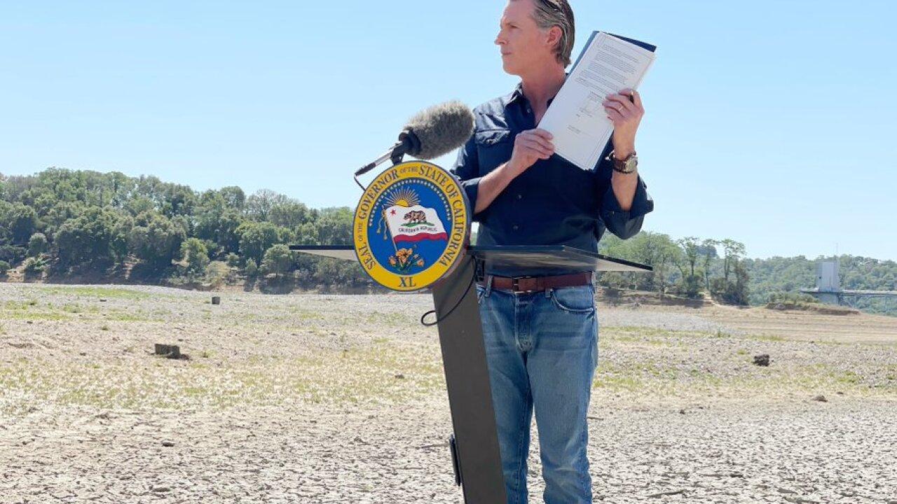 Gov. Newsom declares drought emergency for Mendocino, Sonoma counties