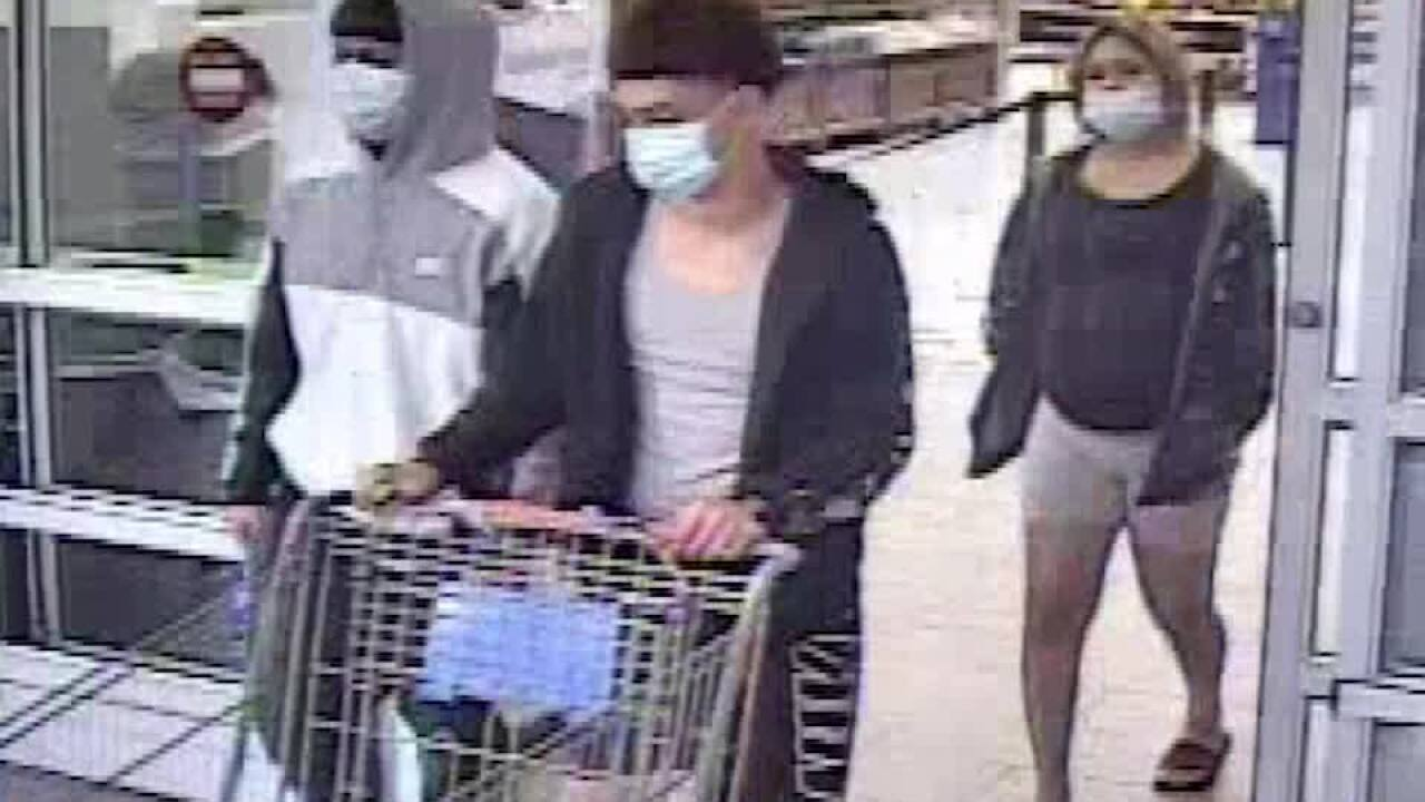 CCPD is looking for these three suspects