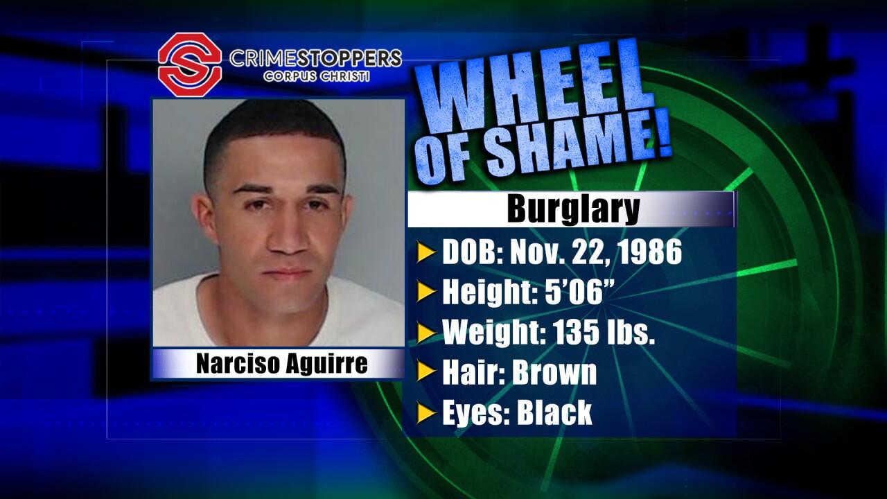 Wheel Of Shame Fugitive: Narciso Aguirre
