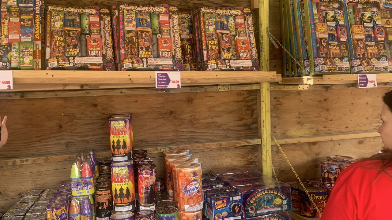 Looking for fireworks in Las Vegas? Why you should shop at permitted booths