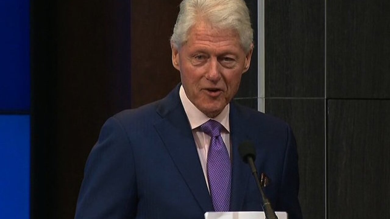 On book tour, Bill Clinton gets questions about Monica Lewinsky