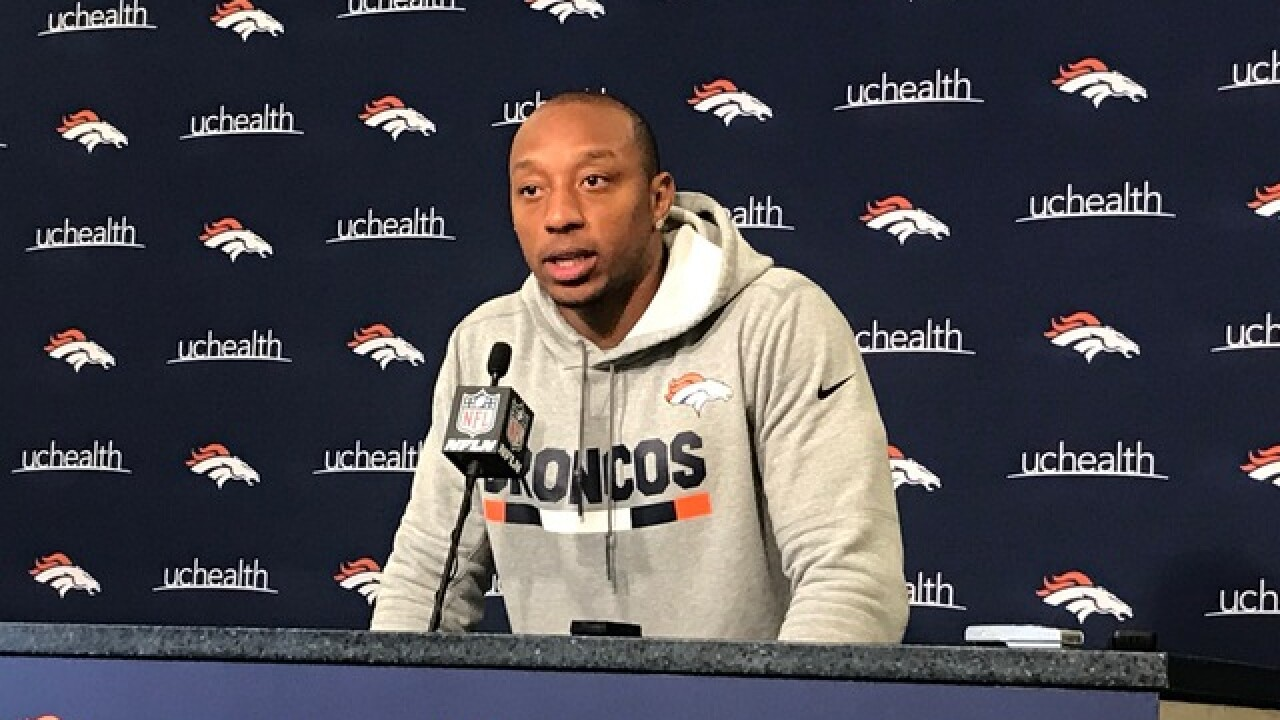 Broncos' Chris Harris remains 'pissed off, angry' over last season's spiral