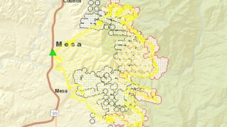 Mesa Fire grows to more than 27,000 acres
