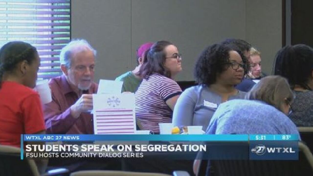 FSU students discuss segregation in Leon County Schools