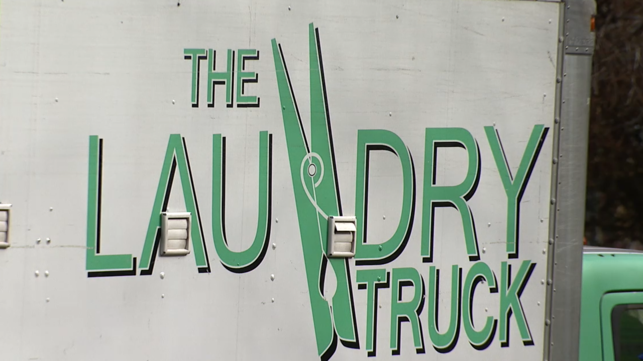 This truck is making sure the homeless have clean clothes