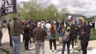 NKU protests