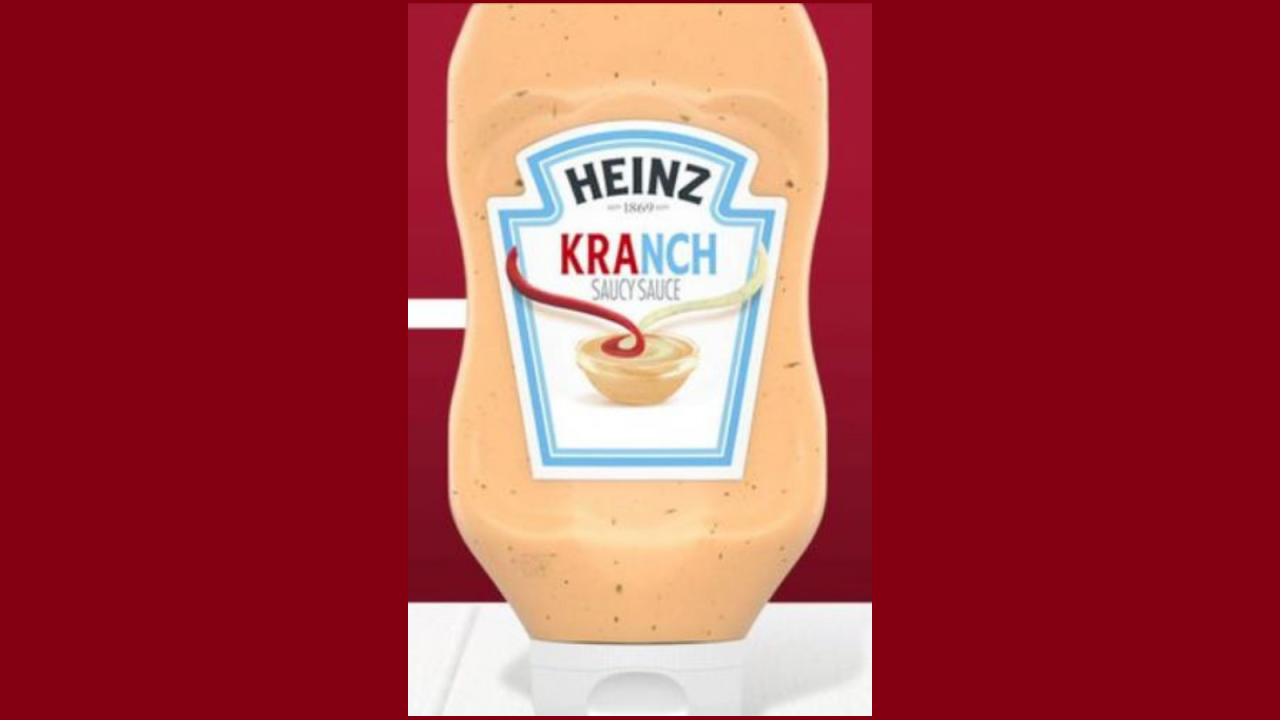 Heinz to launch new ketchup-ranch combination sauce