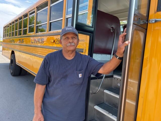 bus driver Frank