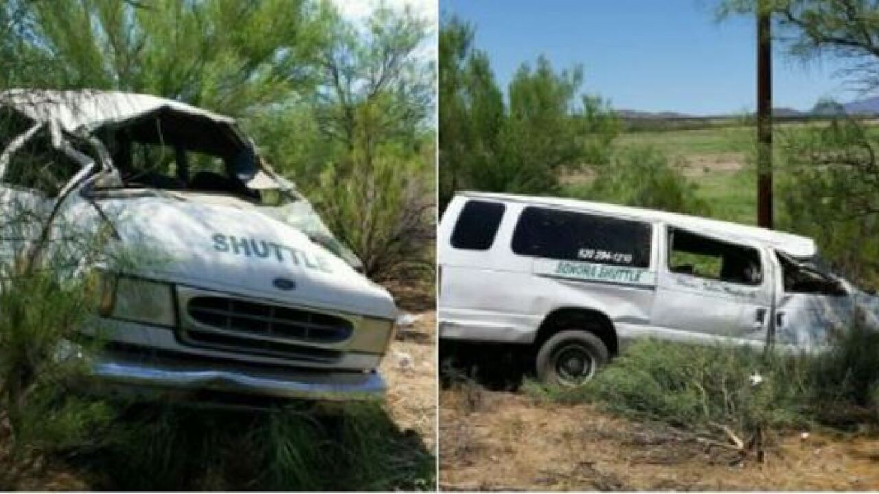 Motorist dead in I-19 shuttle rollover