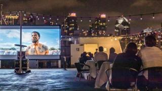 Hornblower dinner and a movie