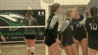 High School Volleyball Class B-2 Subdistrict Finals: Omaha Skutt vs. Elkhorn South