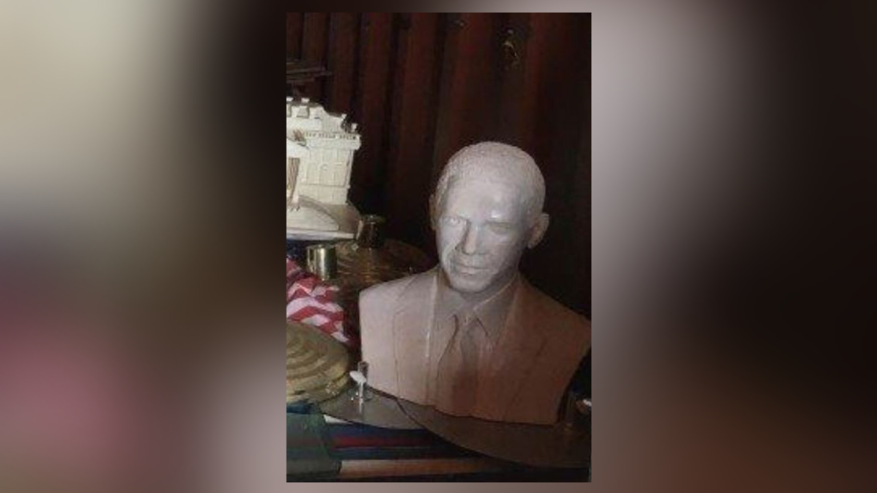 Statue of President Obama missing from James City County property returned
