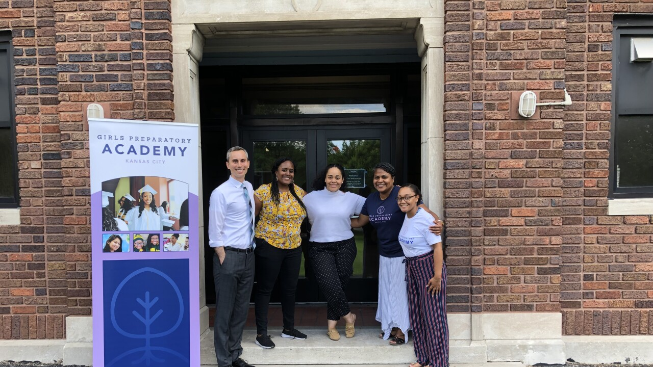 first all-girls charter school opens in Kansas City, girls preparatory academy