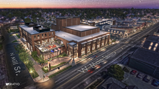 Plainfield Government Center & Performing and Fine Arts Center Rendering