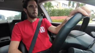 Delivery Dudes driver, file video