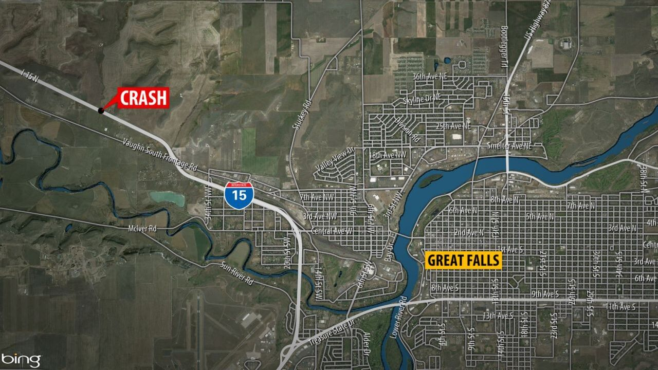 Man dies in overnight crash along I-15