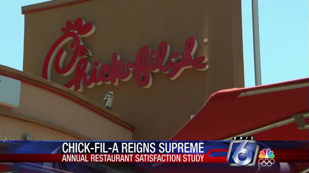 Chick-fil-A topped the nation's list for the top fast-food and limited-service restaurant for the seventh straight year