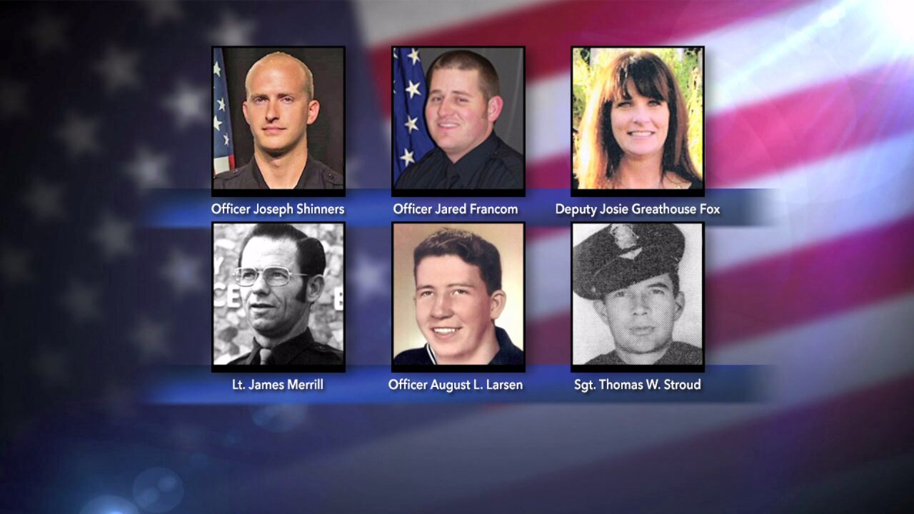 January 5 becomes deadliest day for law enforcement in Utah, with 6 officers killed yearsapart