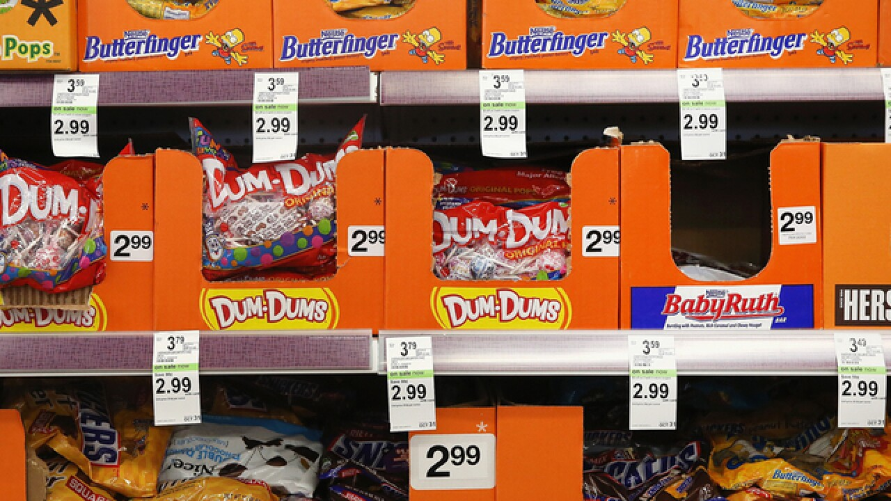 Ohioans spend the least of any state in the country on Halloween candy, analysis says
