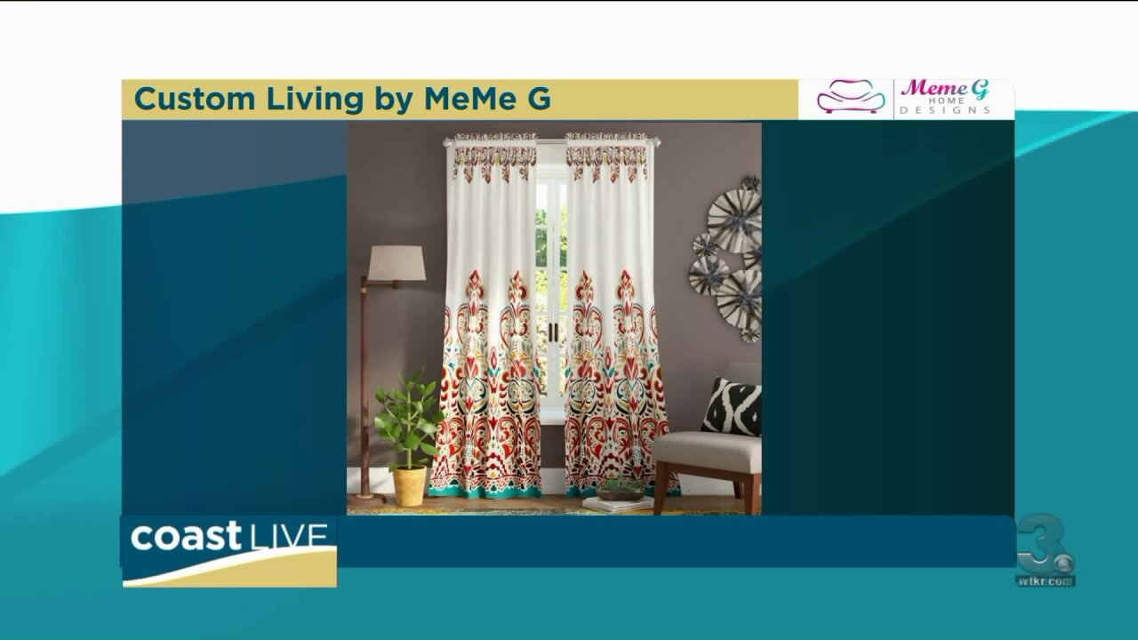 Adding length to short curtains on Coast Live