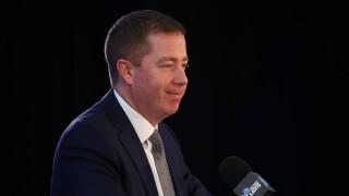 Bob_Quinn_Detroit Lions Introduce Matt Patricia