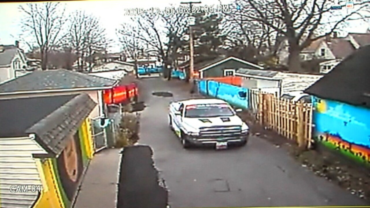 VIDEO: CLE illegal dumping caught on camera