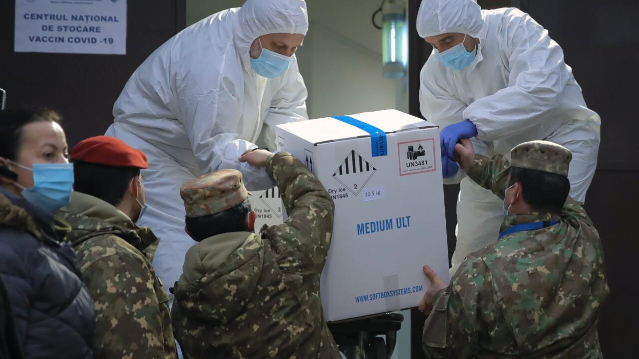 Virus Outbreak Romania Vaccine