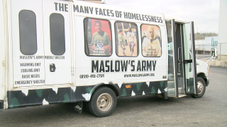 Maslow's Army mobile shelter