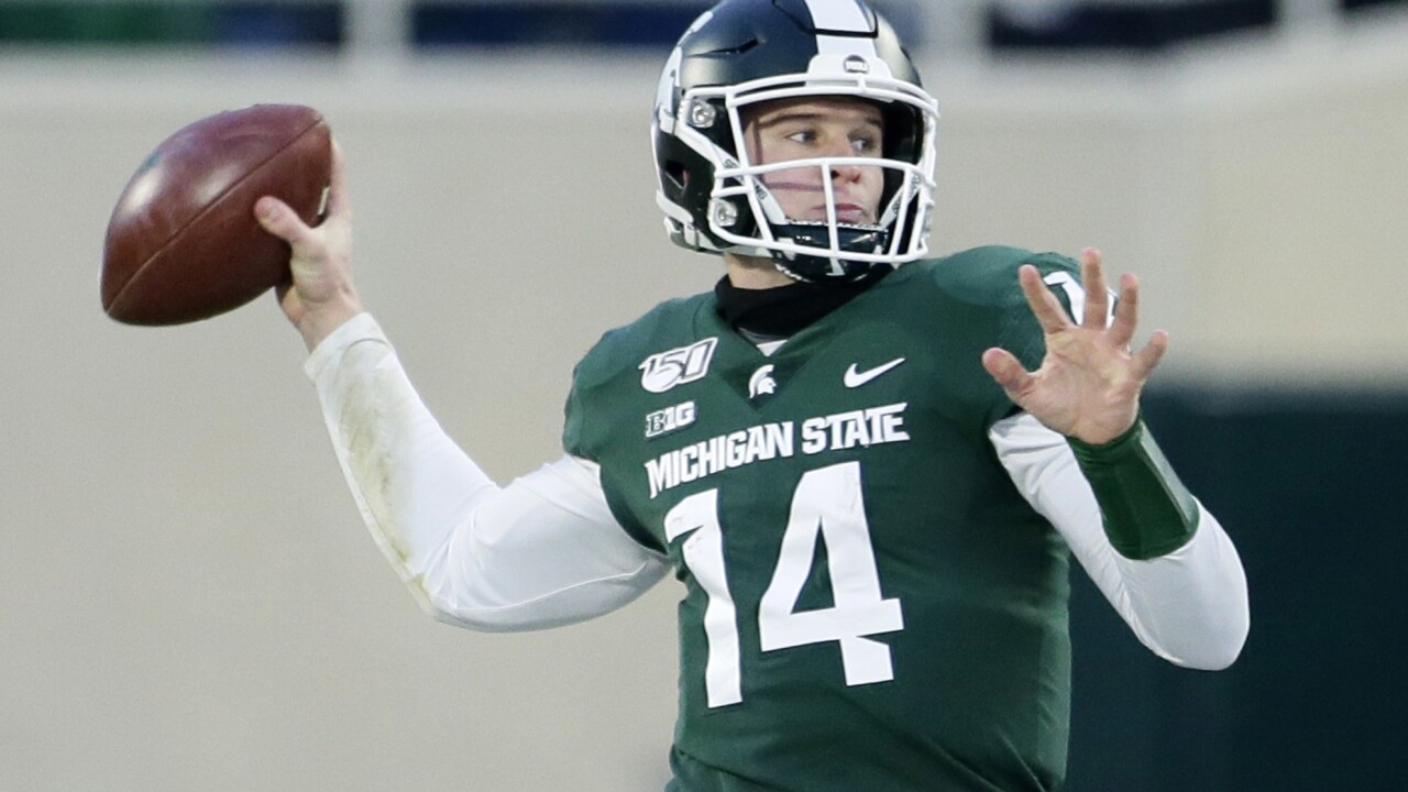 Michigan State edges Maryland to become bowl-eligible