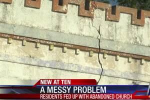 Crumbling, century-old Corpus Christi church irks neighbors