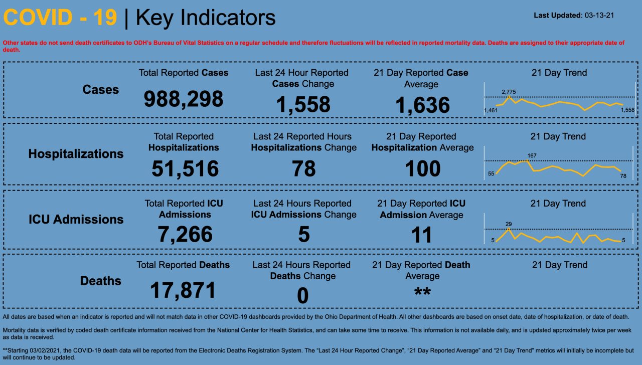 3/13/21 CV key indicators