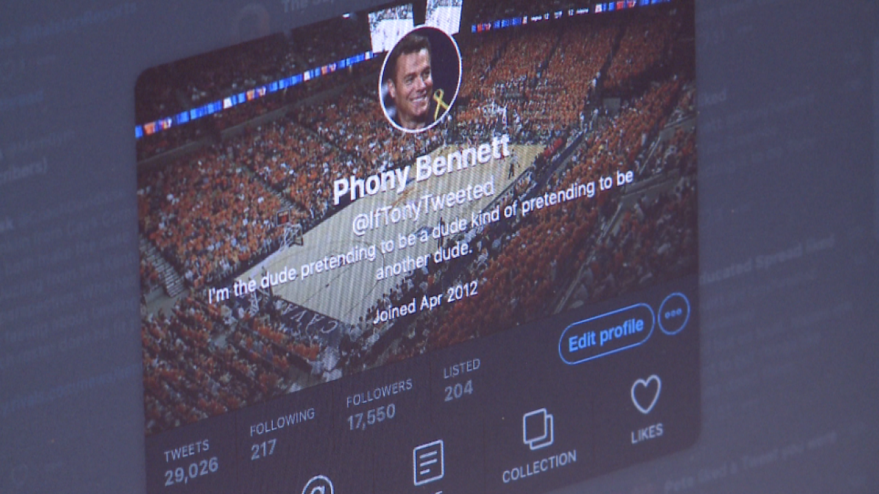 """Eye-Twitt-ness account of UVA's national title: A visit with """"PhonyBennett"""""""