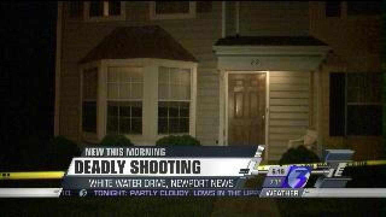 Update: Man shoots his wife, then himself in Newport News