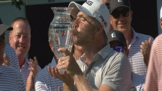 David Skinns wins first career Web.com Tour event at Pinnacle Bank Championship